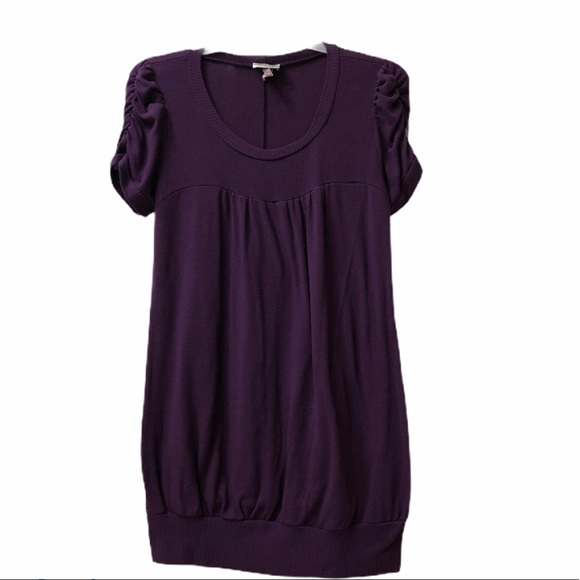 Caren Sport Tops - Caren Sport Purple Tunic Knit Size 2X